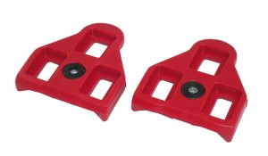Xpedo backup klamper Xpedo LookDelta compatible 9° red | Pedal cleats
