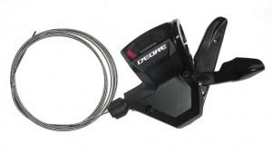 Shimano Shifter Deore SL-M 590, black 3-fold, left, 1800 mm long | Gear levers