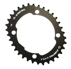 Stronglight klinge Kit Osymetric 104 Single Speed 34 sprockets | chainrings_component