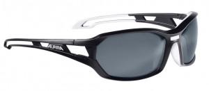 Alpina cykelbriller Alpina Berryn P Blk-matt/whi, glass polarized Blkmirror | Glasses
