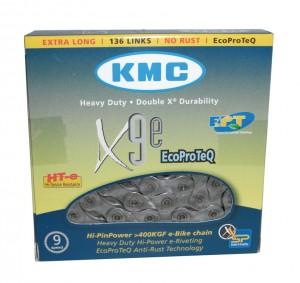 "KMC kæde KMC X-9-E EPT anti-rust 1/2"" x 11/128"",136 links, 6,6mm, 9-speed | Chains"