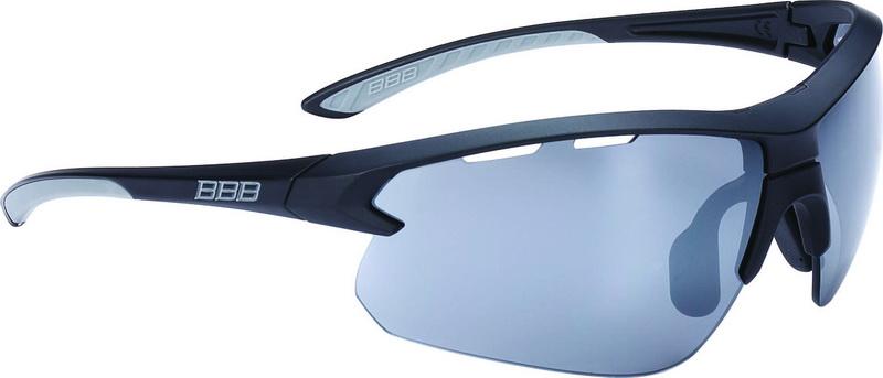 Solbrille BBB Impulse Sort stel mørk PC,gul,klar BSG-52 Grå gummi | Glasses