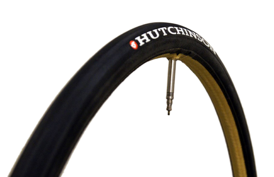 HUTCHINSON Boyaux Carbon Comp Tubular 700x22C (23-622)Light Compound, Black, Valve length:40 mm, Weight:255 g | Valve