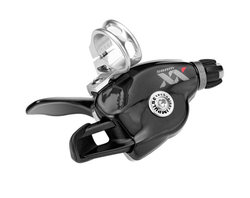 SRAM Trigger shifter XX Black 10 speed RearGrey logo, With discrete clamp | Gear levers