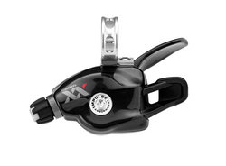 SRAM Trigger shifter XX Black 2 speed FrontGrey logo, With discrete clamp | Gear levers
