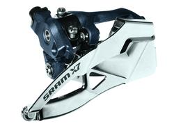 SRAM Front derailleur X7 Low clamp Ø31,8/34,9 mm 3x9 speed Dual pull | Front derailleur