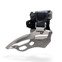 SRAM Front derailleur X7 High clamp Ø31,8/34,9 mm 2x10 speed Dual pull | Front derailleur