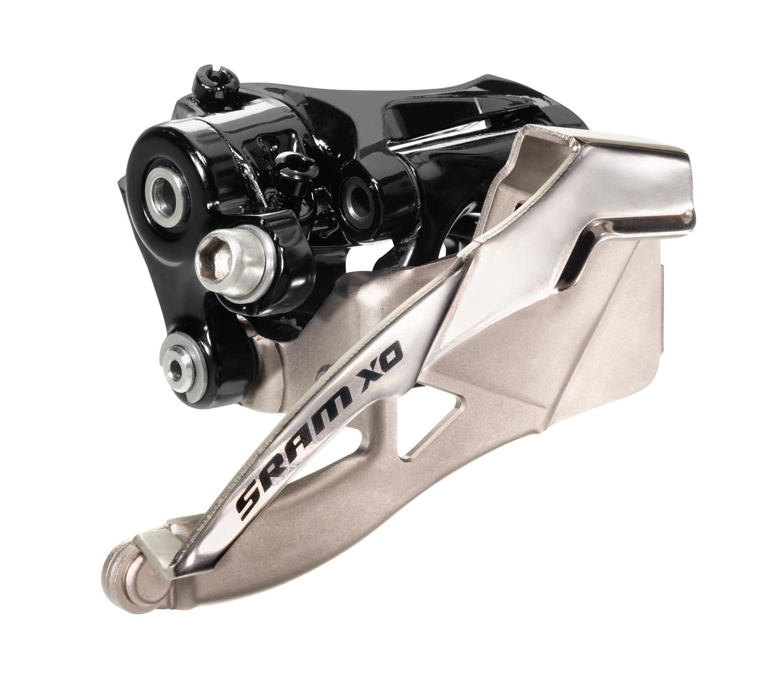 SRAM Front derailleur X0 Low clamp Ø31,8/34,9 mm 38/36T 2x10 speed Bottom pullBlack | Front derailleur