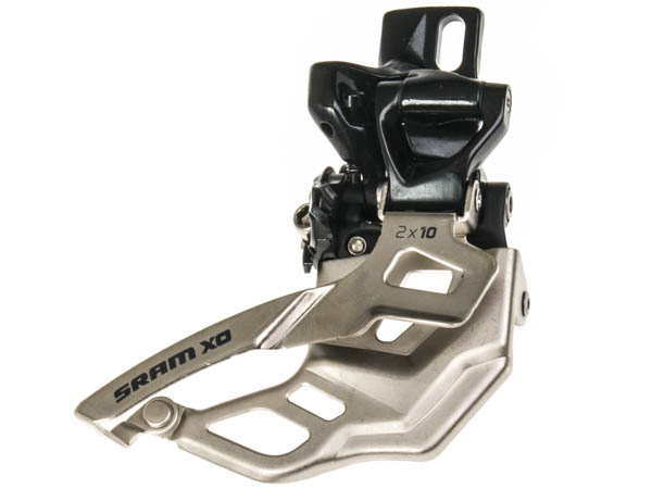 SRAM Front derailleur X0 High direct mount 2x10 speed Top pullBlack, 38/36T | Front derailleur