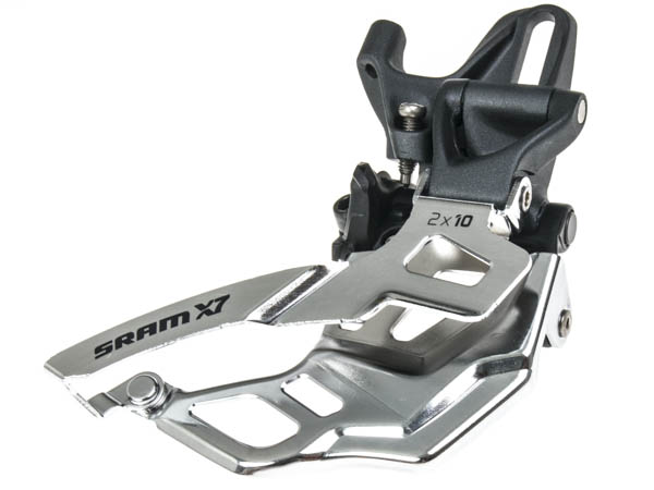SRAM Front derailleur X7 High direct mount 2x10 speed Bottom pullStorm grey | Front derailleur