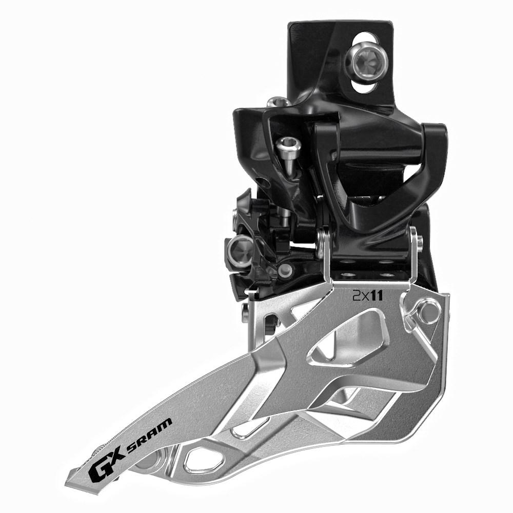 SRAM Front derailleur GX High direct mount 2x11 speed Top pullBlack, 36/24T | Front derailleur