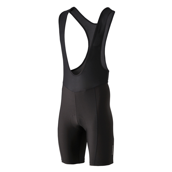Shimano Bukser korte med seler sort XL | Trousers