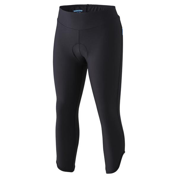 Shimano Bukser 3/4 Damer sort L | Trousers