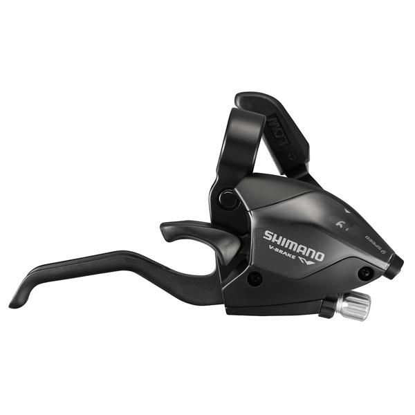 Shimano bremse og skiftegreb STI-greb par ST-EF51-A 9speed sort, 2-fingers | Gear levers