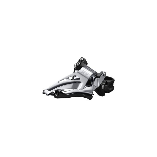 Shimano forskifter XT M8000 11-sp Dobbel, TS, DP, low clamp | Front derailleur