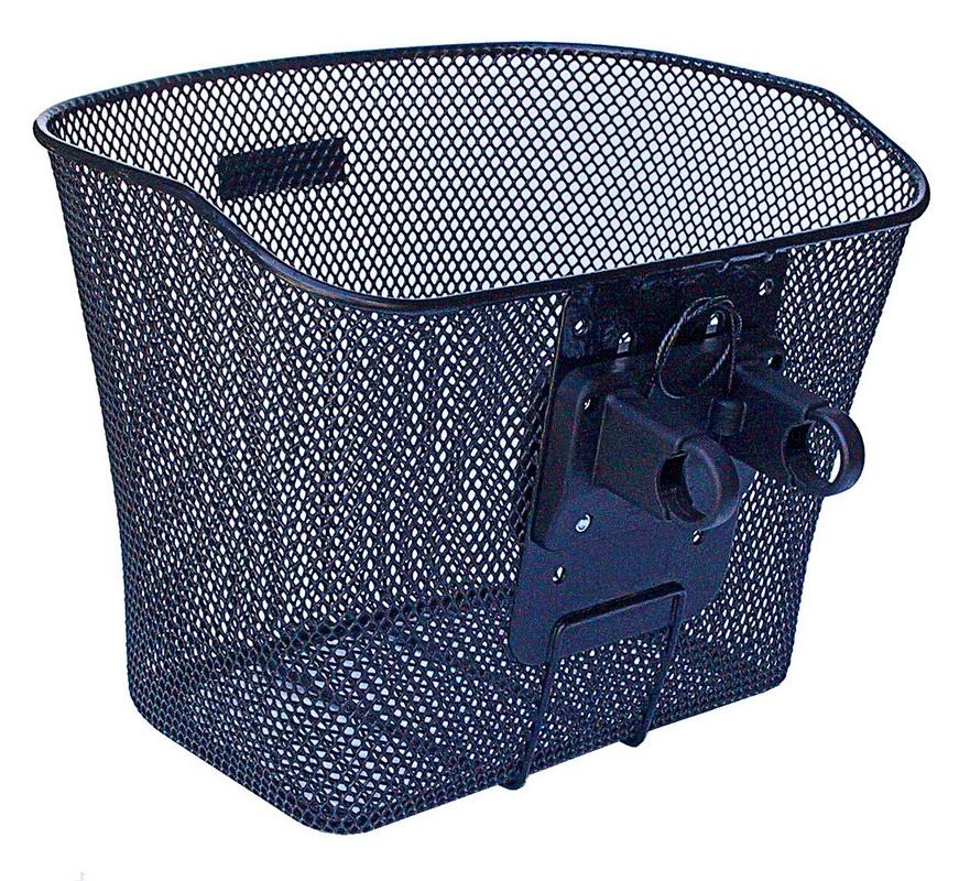 KLICKFIX kurv Uni Fast Sort Net Front 26x35x25 16L Max 7kg FASTMONT. 0397 | Bike baskets