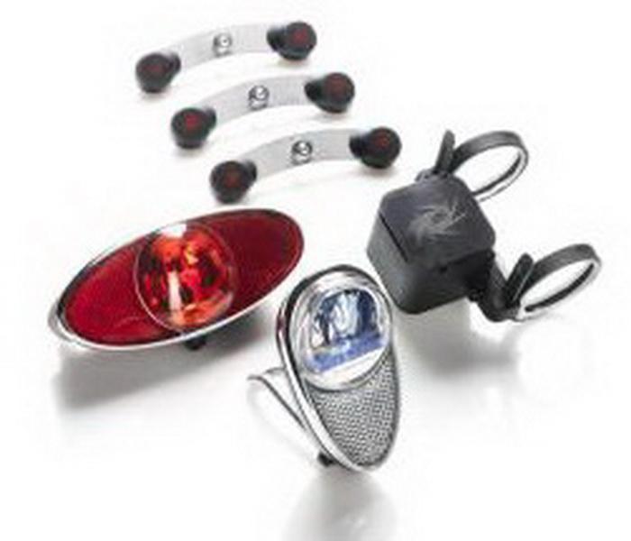 Lygtesæt Reelight RL770 Backup baglygte bagagebære(20) org. nr. RE-00770 fast lys bag   Rear lights