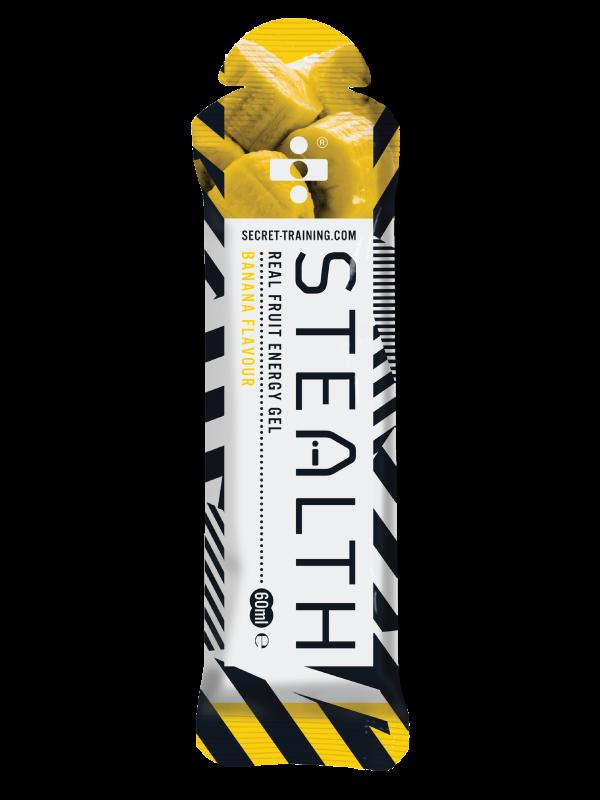 Stealth Gel Med Rigtig Frugt Banan 60ml 14 stk | Energy gels