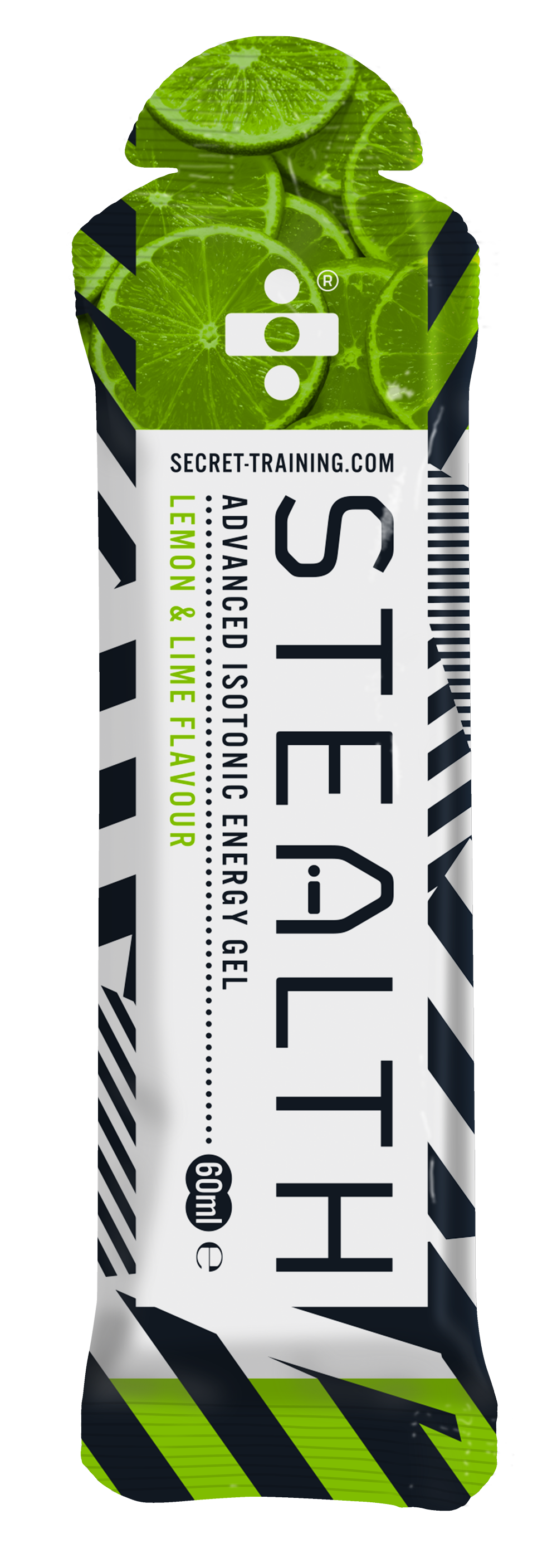 Stealth Iso Gel Lemon & Lime 60ml 14 stk | Energy gels