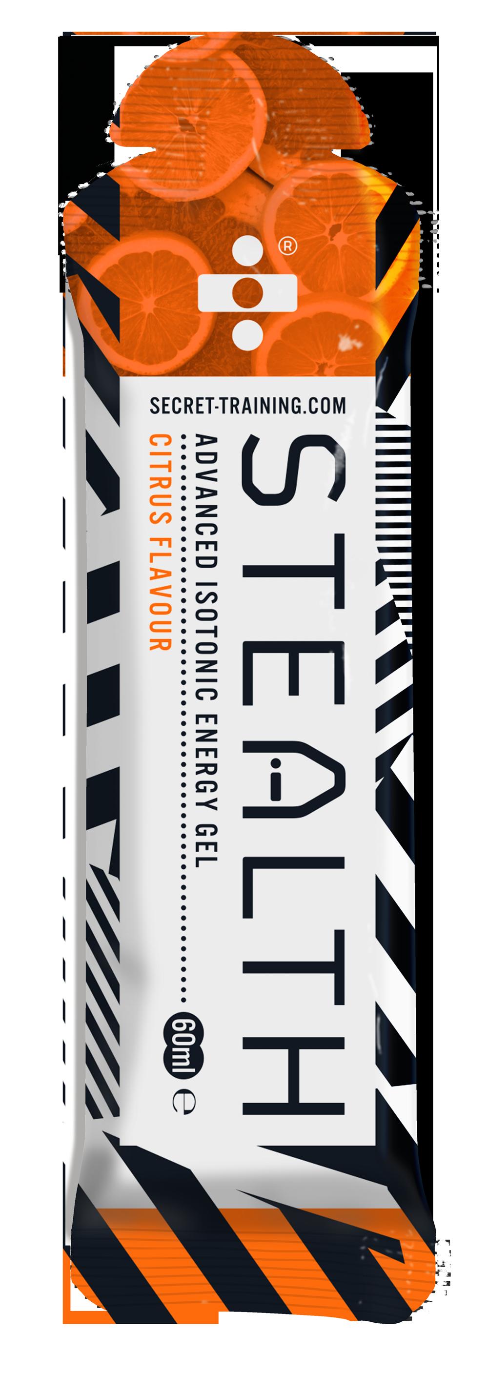 Stealth Iso Gel Citrus 60ml 14 stk | Energy gels