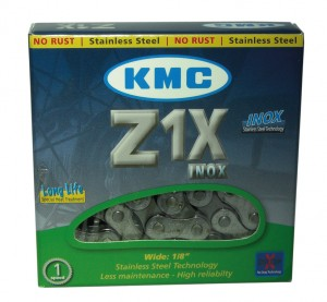 KMC kæde KMC S 10 1/2 x 1/8 112 Left 9,4 mm Inox | Chains