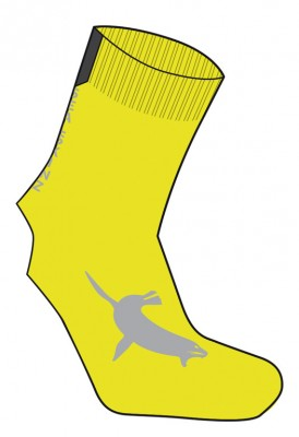 SealSkin Stall Sock SealSkinz yellow Size S-M (36-42) | Socks