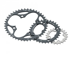 Stronglight klinge MTB 104/64 CT² middle 32 teeth, black, 9-gear | chainrings_component