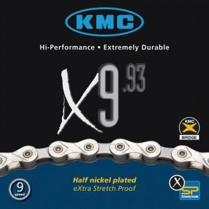 KMC kæde KMC X-9-93 116 Left 6,6 mm 9-speed | Chains