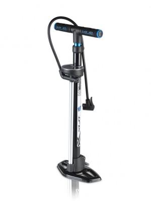 XLC stand cykelpumpe 'Alpha' PU-S01 11 bar, withDualkopf   Stands