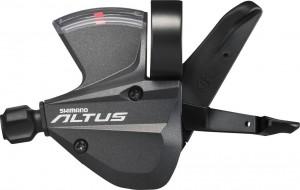 Shimano skiftegreb Altus SL-M 370 3-way, left, 1800mm, black | Gear levers