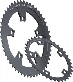 Miche klinge Super11 SSC BCD 110 inside38 teeth, black,11-gear | chainrings_component