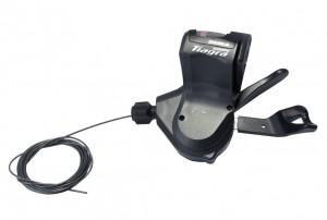Shimano skiftegreb Shimano Tiagra SL-4700 2-speed, left, 1800 mm lg. For Flatbar | Gear levers