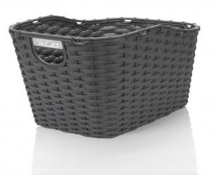 XLC polyrattan cykelkurv carry more for XLC system luggage carrier black | Bike baskets