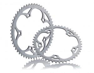 "Miche klinge Pista BCD 135 51 d. 1/8"" silver | chainrings_component"
