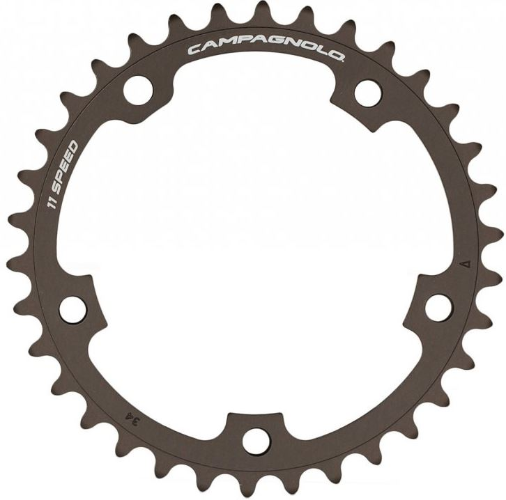 Campagnolo klinge Super Record 11 sp CT FC-SR134 - R1230534 34T Ø110mm (passer på FC12-SR240C kranksæt) | chainrings_component
