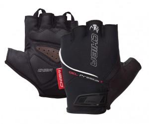 Chiba cykelhandsker Gel Premium short størrelse XXXL sort | Gloves