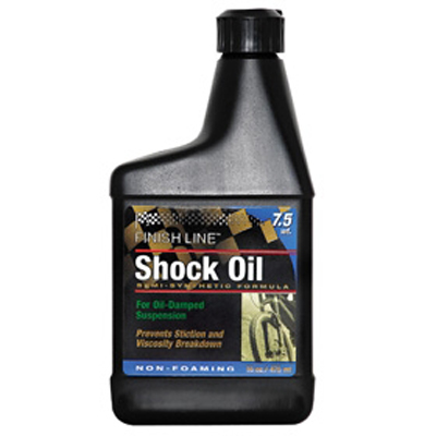 Finish Line Shock Oil 7,5Wt - 48 cl. forgaffelolie | polish_and_lubricant_component