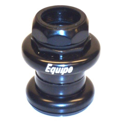 "Equipe Styrfitting 1"" Gevind 25.4mm til gevingaffel - Sort 