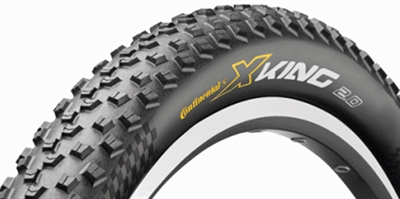 Continental X-King 26 x 2,20 slangeløse dæk til all-round brug | Tyres