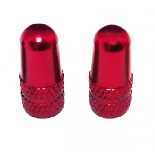 Diverse cap for SV-valve alloy pair red