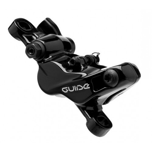 SRAM Caliper assembly, standard (non-CPS) For Guide R/RS BlackAssembled, no hose