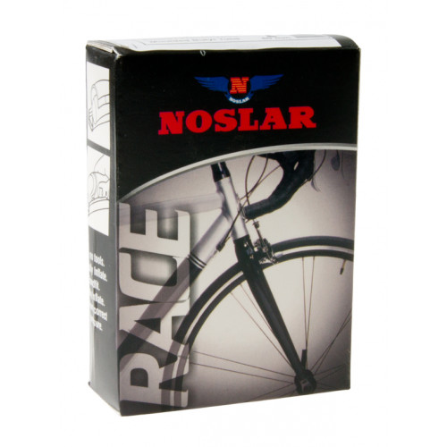 """NOSLAR Light weight cykelslange 700 x 18-25C 28 x 3/4-1"""" (18-25x622) Presta 80 mmButyl, With removal core, non-threaded"""