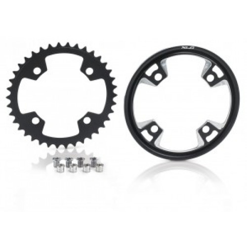 XLC XLC chainring for Bosch Systems black, 38 cogs, incl. Cover