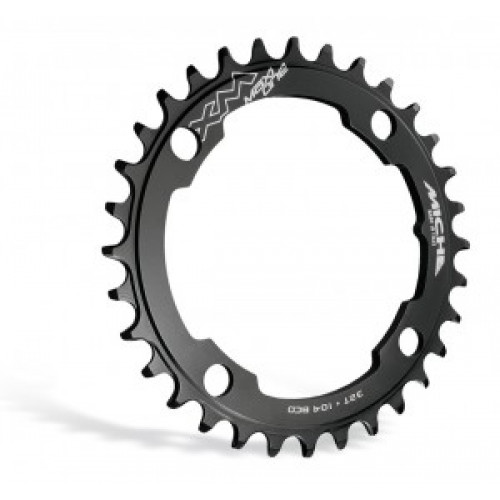 Miche Sprocket E-Bike Miche for Brose 32t,bl XM Maxi one 36 teeth,BCD 104 black
