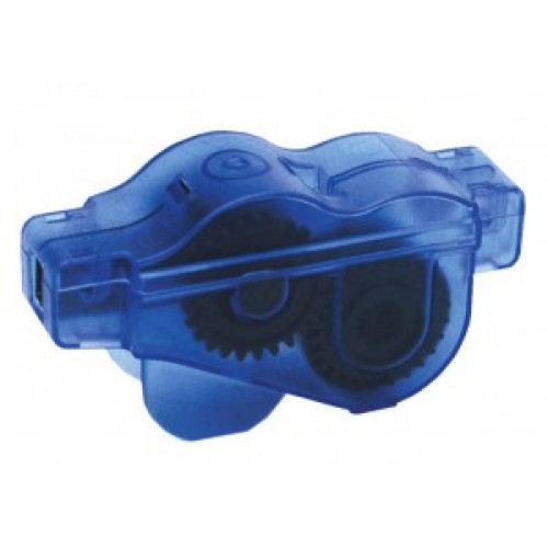 Diverse Chain Cleaning Device with 6 brush-System blue/transp.