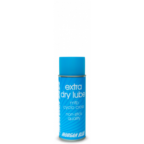 MORGAN BLUE extra dry lube mtb cyclo cross kædeolie - 400 ml