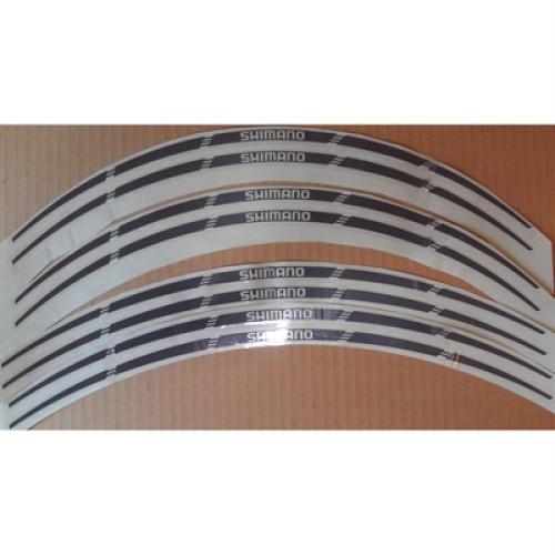 Klistermærker til hjulsæt leveres i sæt med 8 stk