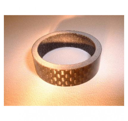 "Carbon Spacer 1 1/8"" 5mm"