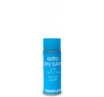 MORGAN BLUE extra dry lube mtb cyclo cross kædeolie - 400 ml