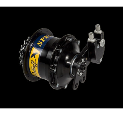 Rohloff 8012 SPEEDHUB 50/14 CC EX Black anodized